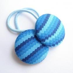 Shades of Blue. Hair Ties